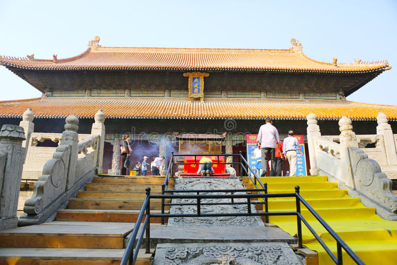 Confucius świątynia zdjęcia royalty free