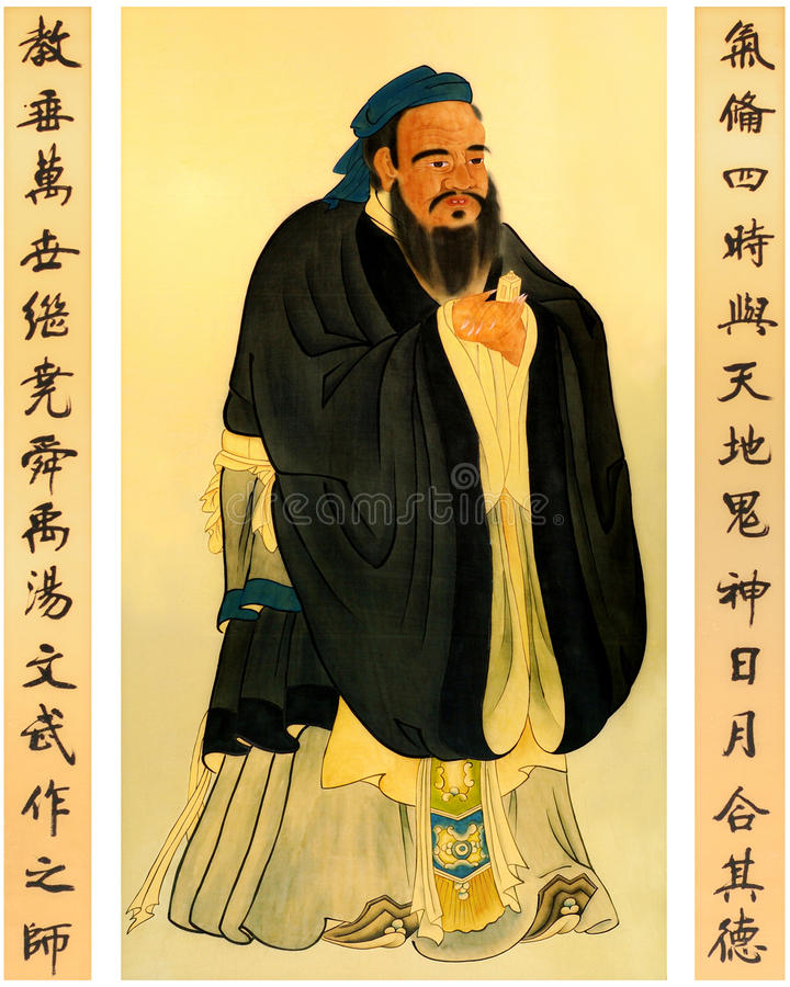 Download Confucius stock image. Image of arts, handwriting, dress - 12579263