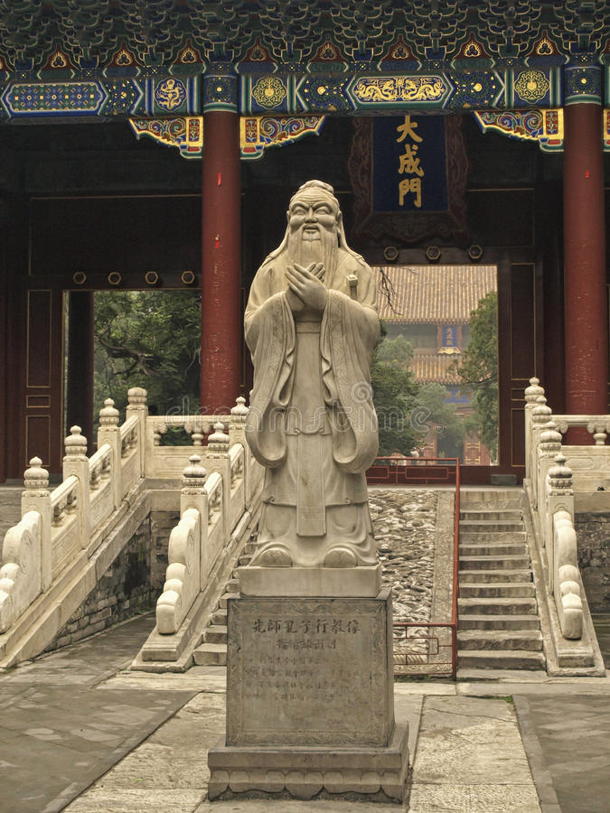 Confucius fotografía de archivo libre de regalías