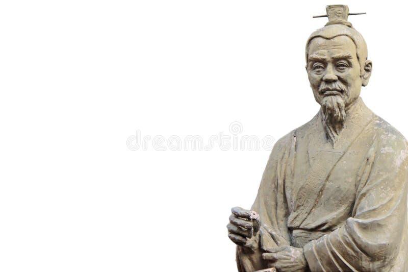 Confucius royalty free stock photo