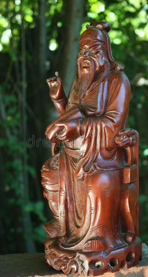 Confucius evening light. Wise teacher philosophy philosopher china eastern promise stock images