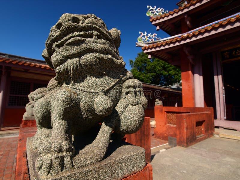 confucius tainan tempel royaltyfri bild