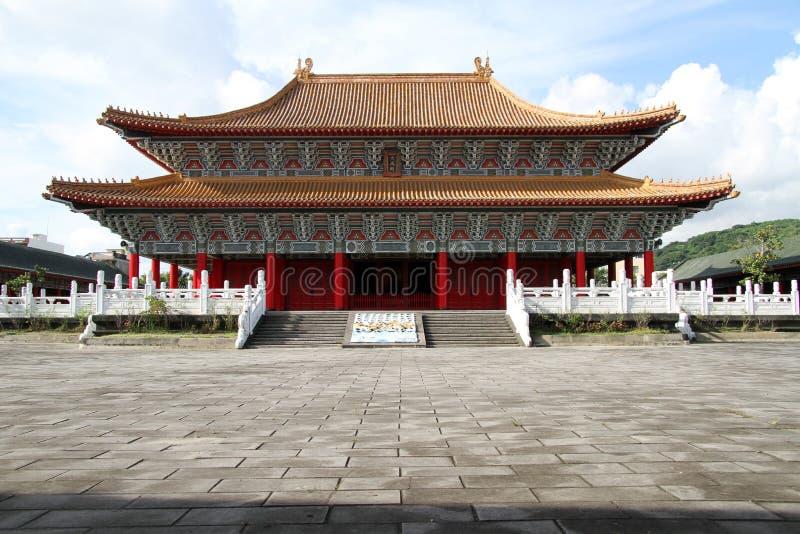 Confucius tempel arkivbild