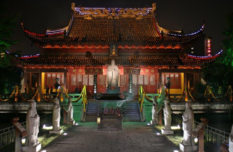 Confucuis Tempel stockbilder