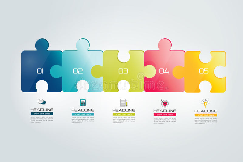 Confunda infographic, etapas carta, molde, esquema, aba ilustração royalty free