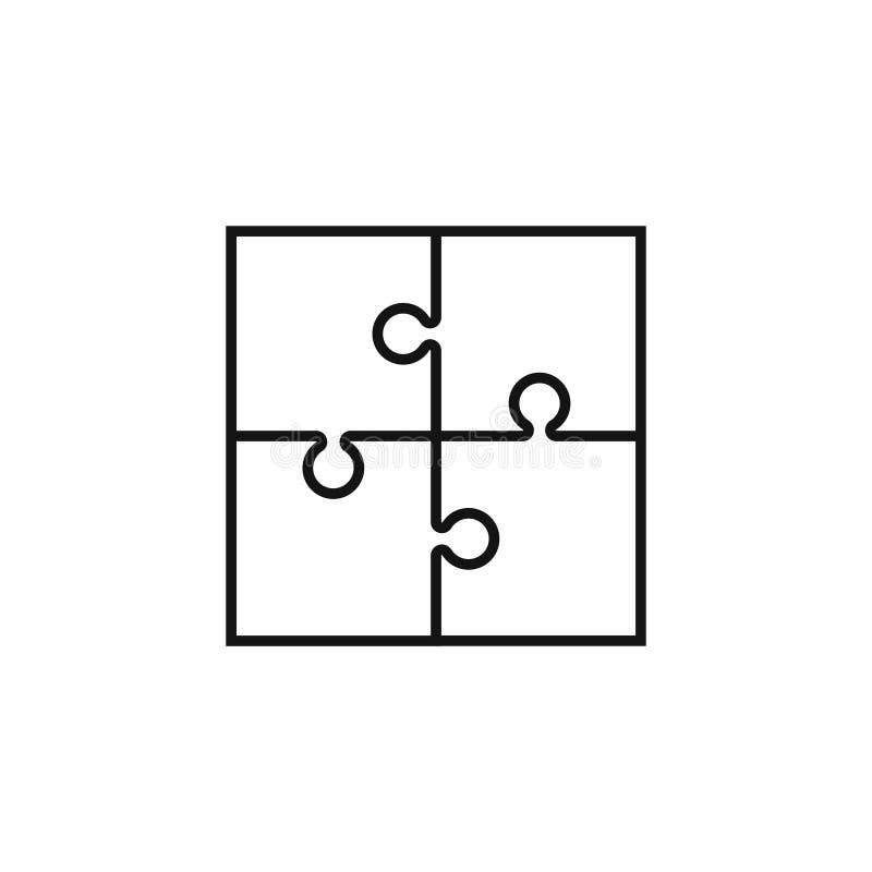 Confunda o vetor do ícone, sinal liso, pictograma contínuo isolado no branco Ilustração de Logo Vetora ilustração royalty free