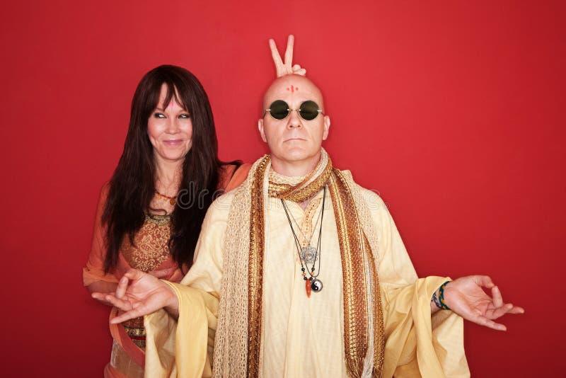 Confunda um guru imagens de stock royalty free