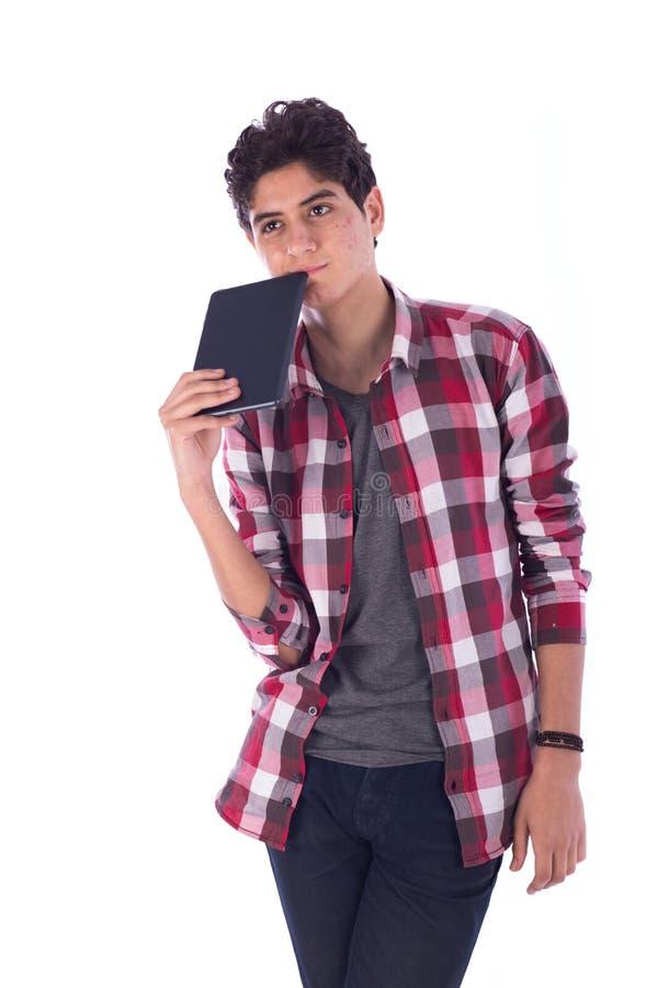Confused подросток стоковое изображение rf
