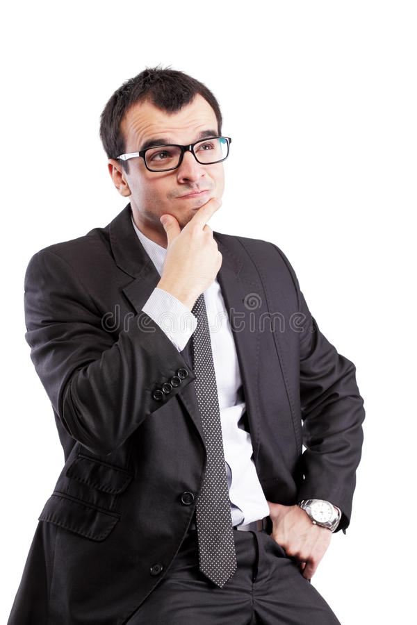 Download Confused Businessman Stock Photo - Image: 22367240