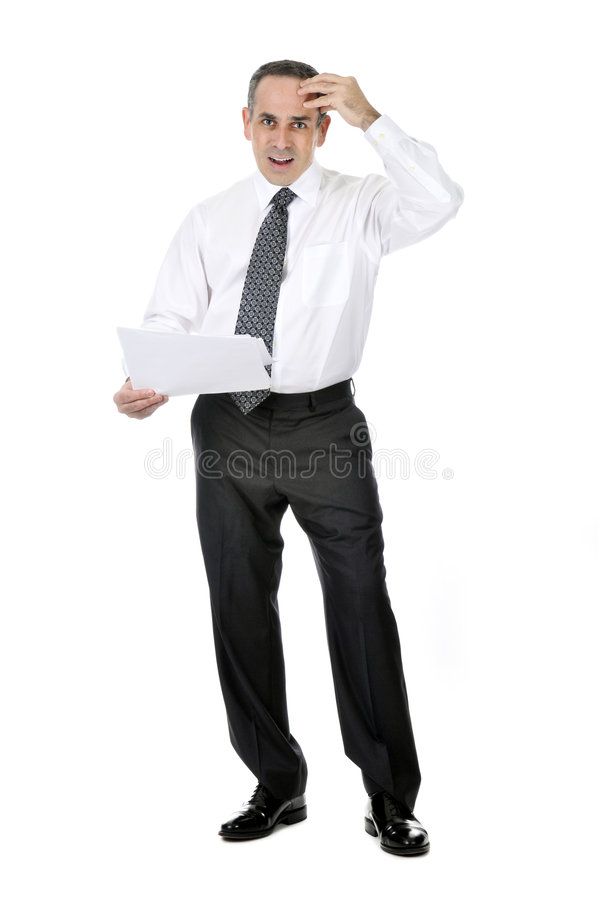 Download Confused businessman stock photo. Image of choice, doubting - 8293862