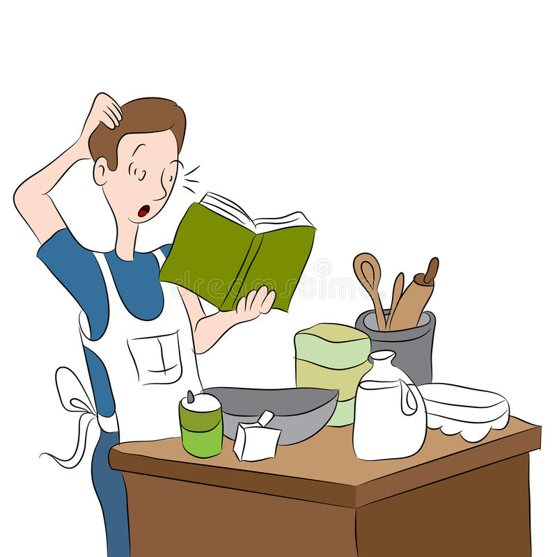 Download Confused Cook Royalty Free Stock Photography - Image: 31963587