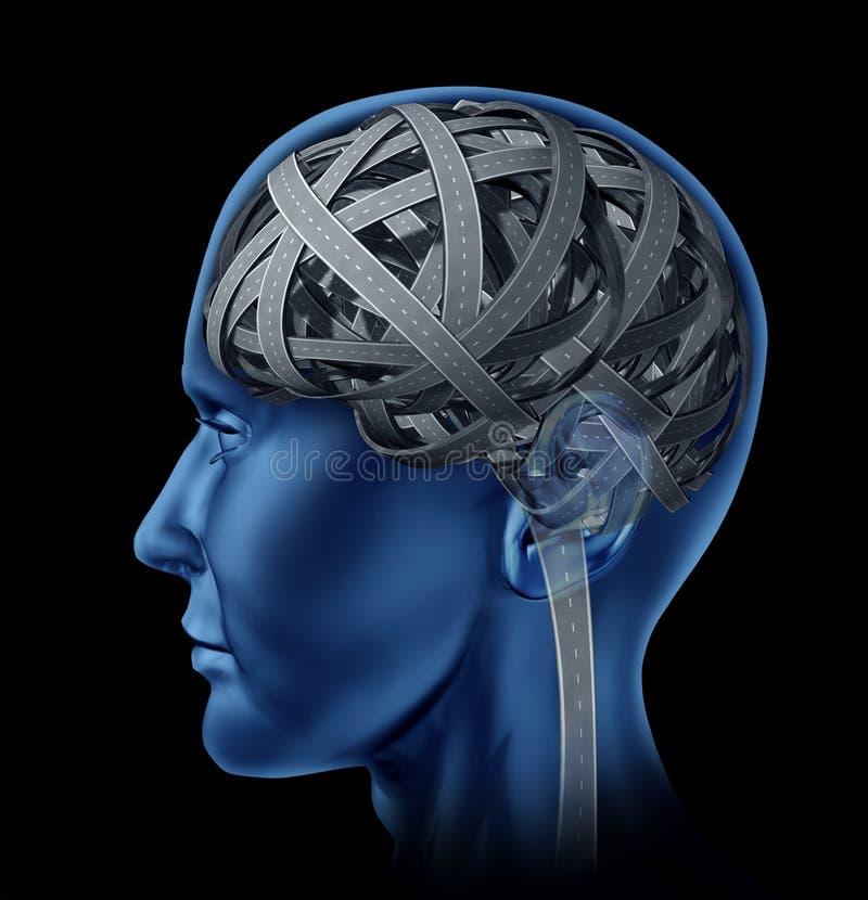 Download Confused Human Intelligence Stock Illustration - Illustration of neurology, human: 22538554