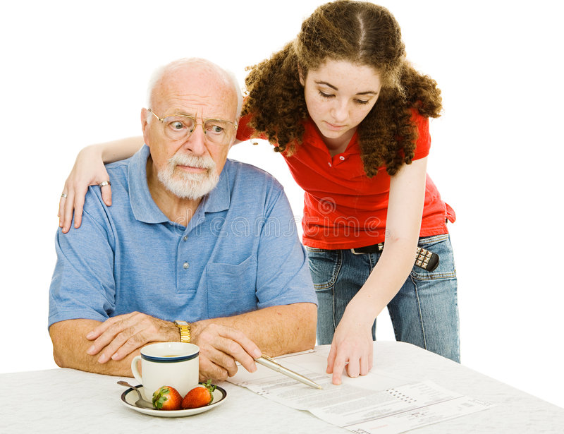 Download Confused Senior Voter stock photo. Image of election, grandfather - 4723586