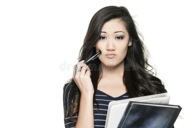 Download Confused student stock image. Image of expression, young - 21883391