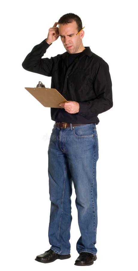 Download Confused Worker stock image. Image of supervisor, occupation - 7270737