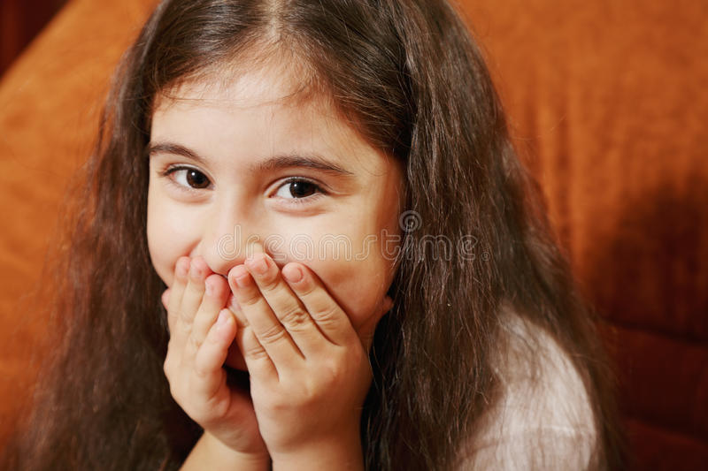 Download Confusing girl stock image. Image of horizontal, little - 17154183