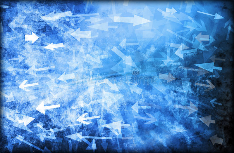 Confusion Abstract Arrows Background Chaos royalty free stock images