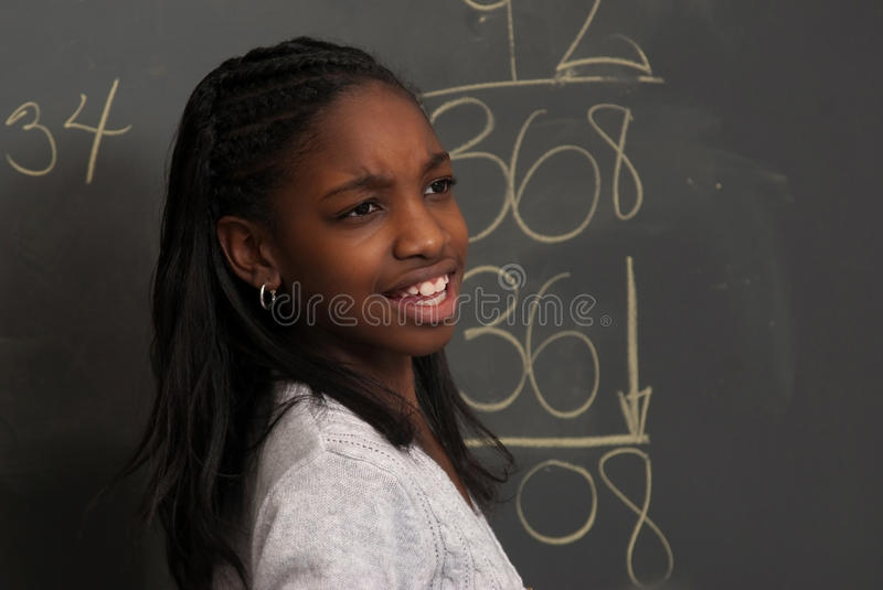 Download Confusion on a problem stock photo. Image of math, learn - 11962442
