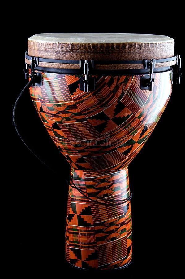Conga africano de Djembe imagem de stock royalty free