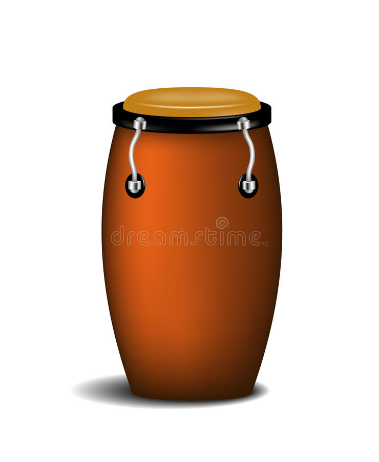 Download Conga (percussion Music Instrument) Stock Vector - Image: 25344056