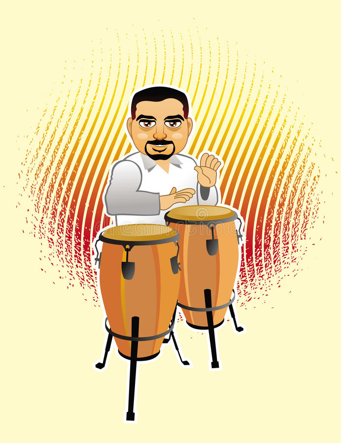 congas vector illustratie