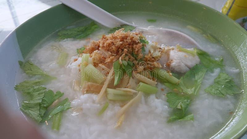 Congee ψαριών στοκ εικόνα