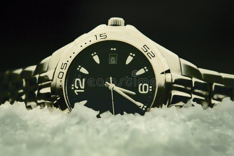 Congelé à temps images stock