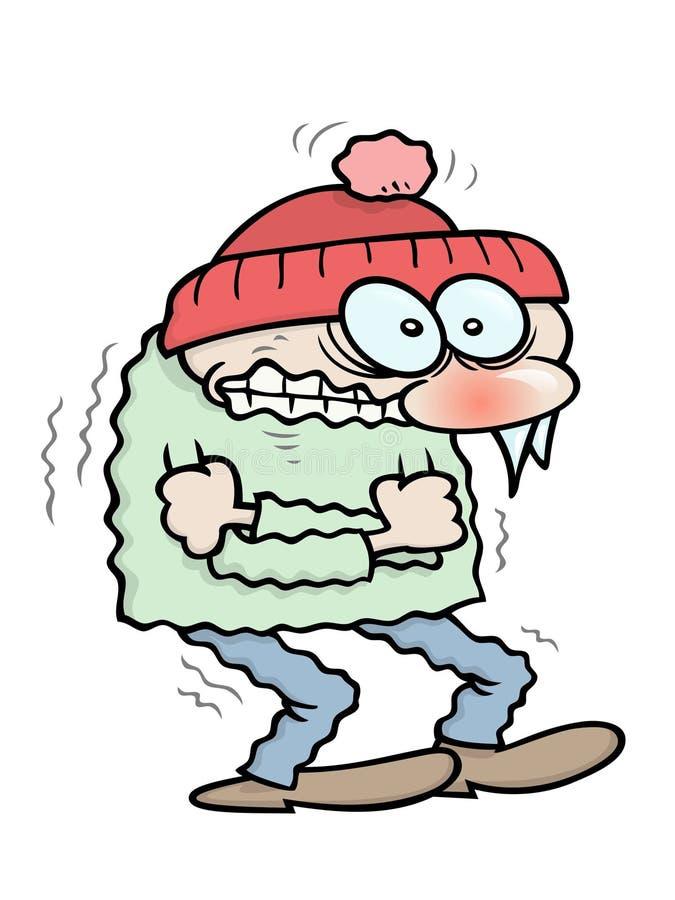 Congelación stock de ilustración