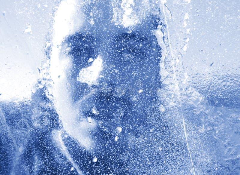 Congelado foto de archivo