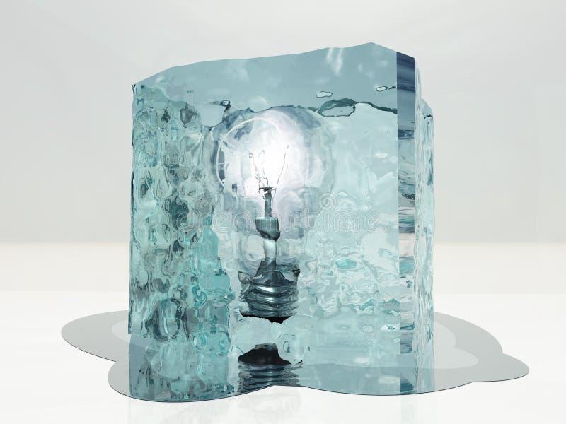 Congelado ilustração royalty free