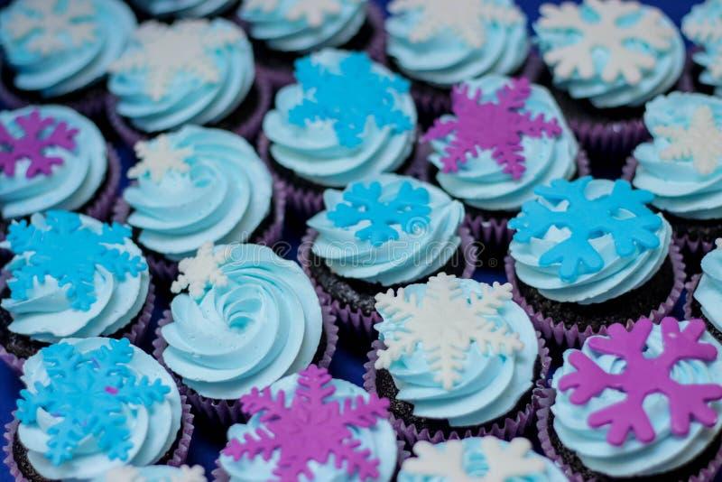 Congelato loro torta di compleanno fotografia stock libera da diritti