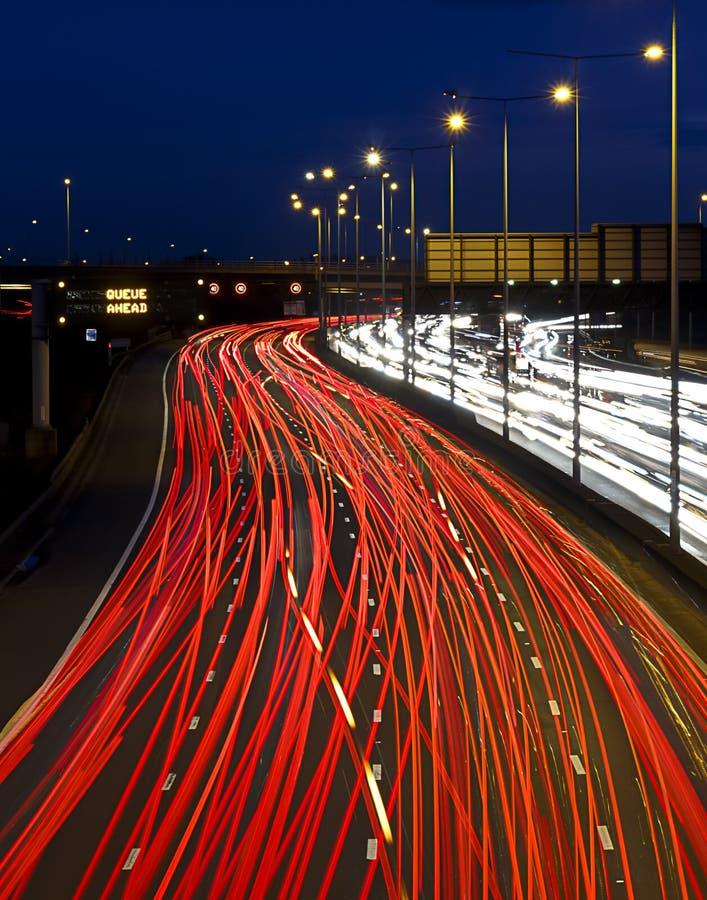 Congestion d'heure de pointe images stock