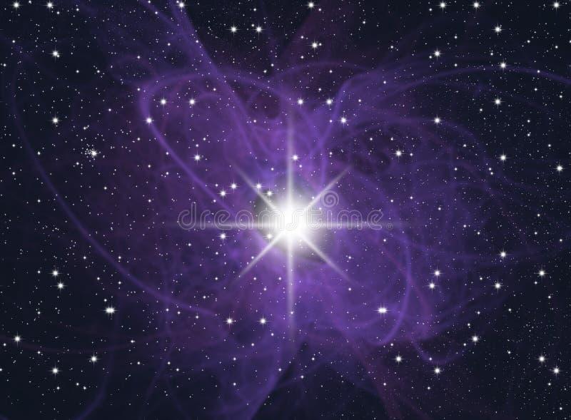 Congestion of stars stock illustration
