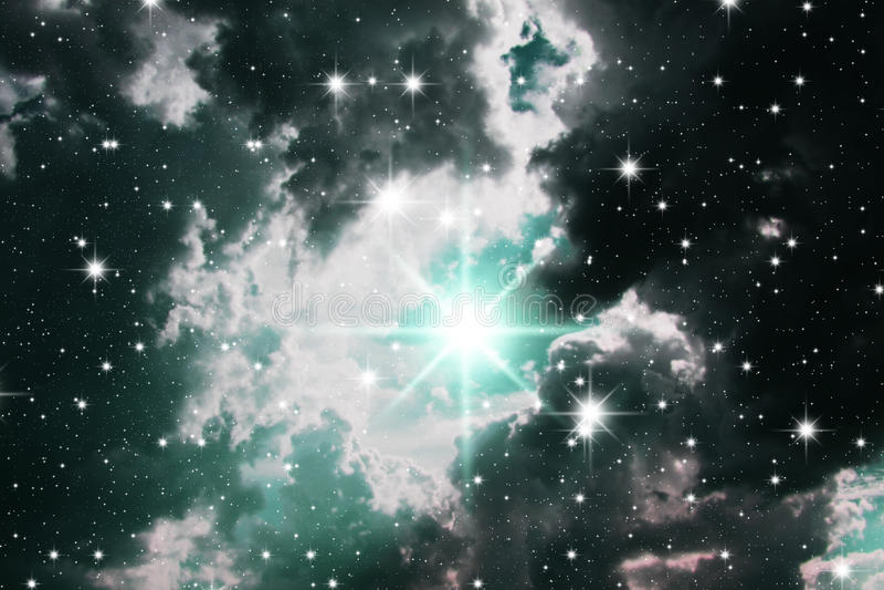Congestione delle stelle illustrazione vettoriale