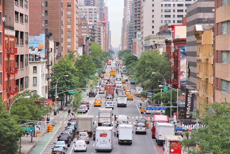Congestione di New York immagine stock libera da diritti