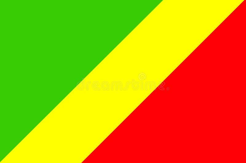 Congo ilustração stock