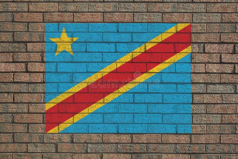 congo demokratisk republik royaltyfri illustrationer