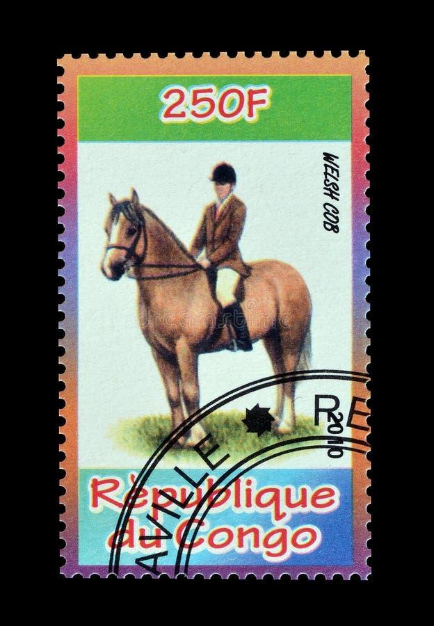 Congo en sellos imagenes de archivo