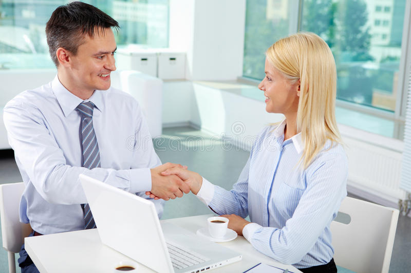 Download Congrats stock image. Image of meeting, laptop, businesswoman - 28949455