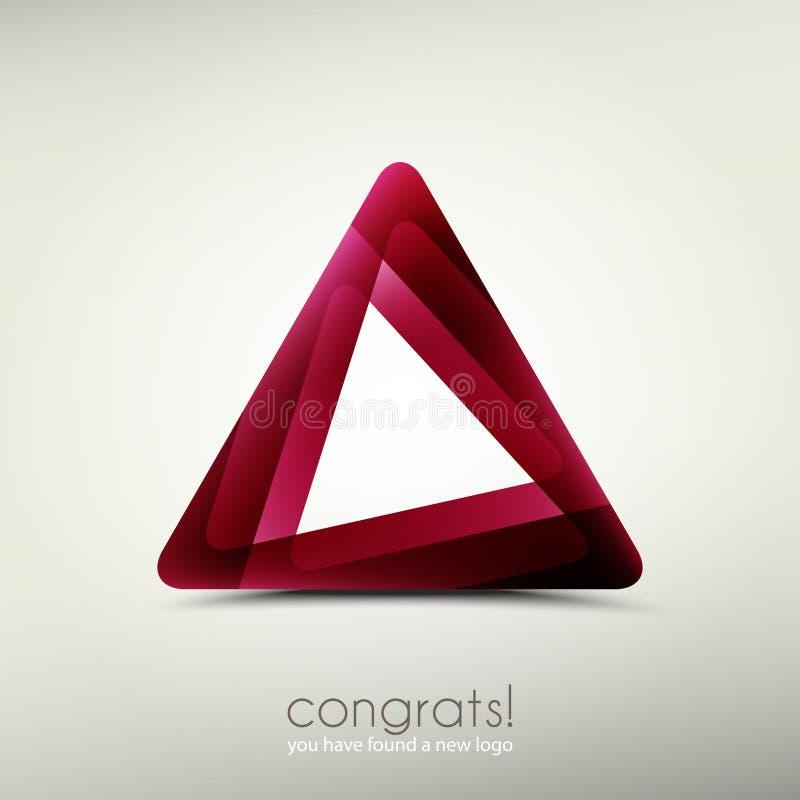 Congrats logo stock illustration