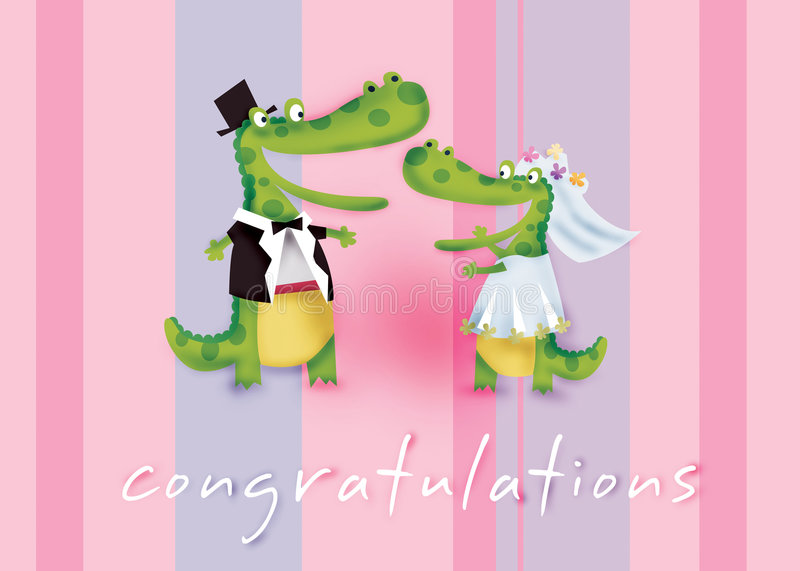 Congratulations royalty free illustration