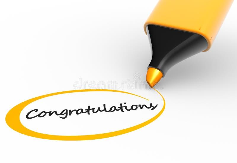 Download Congratulations stock illustration. Image of festive - 25053735