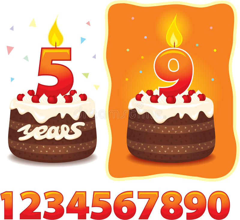 Download Congratulations Card With Cake Stock Photo - Image: 22974040