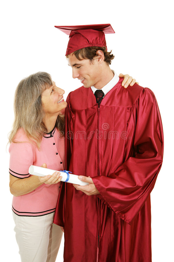Congratulations Son! royalty free stock image