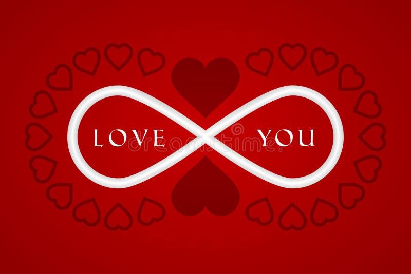 Congratulations on Valentine`s Day. Heart Icon. Symbol of Love vector illustration