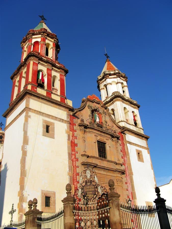 congregation Mexico queretaro świątynia zdjęcie royalty free