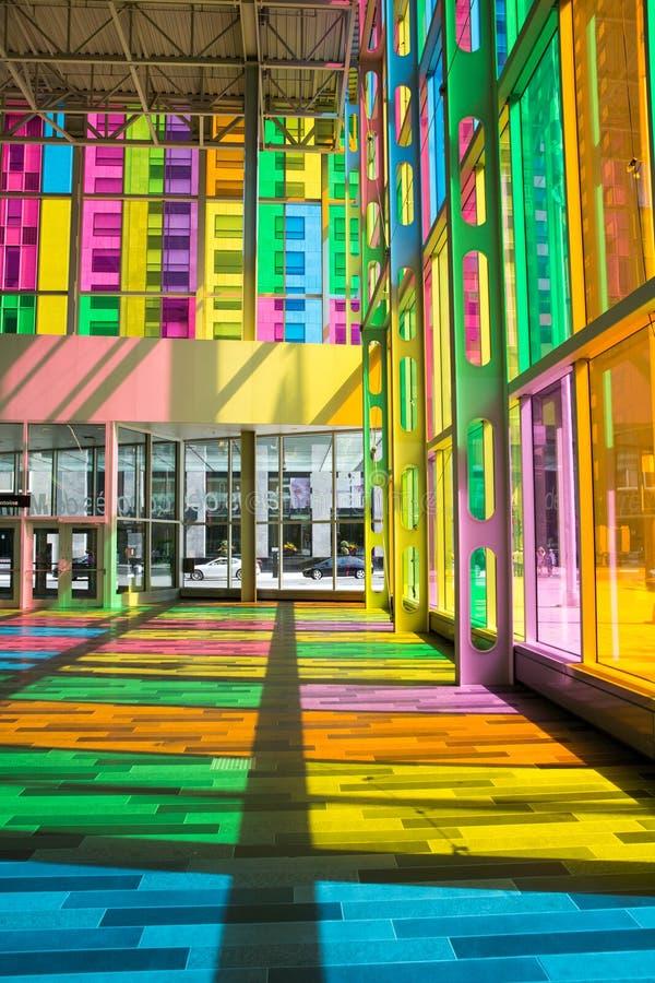 Congres de Montréal de DES de Palais photographie stock