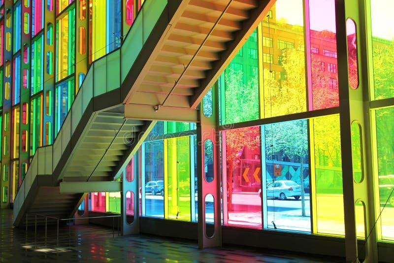 Congrescentrum in Montreal royalty-vrije stock afbeelding