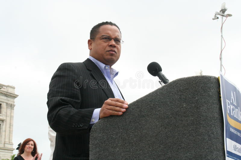 Congreslid Keith Ellison royalty-vrije stock fotografie