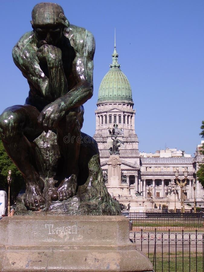 Congreso Of Buenos Aires Royalty Free Stock Photos